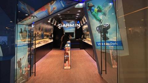 Создание flash-баннера «Магазин Garmin в ТЦ Галерея»